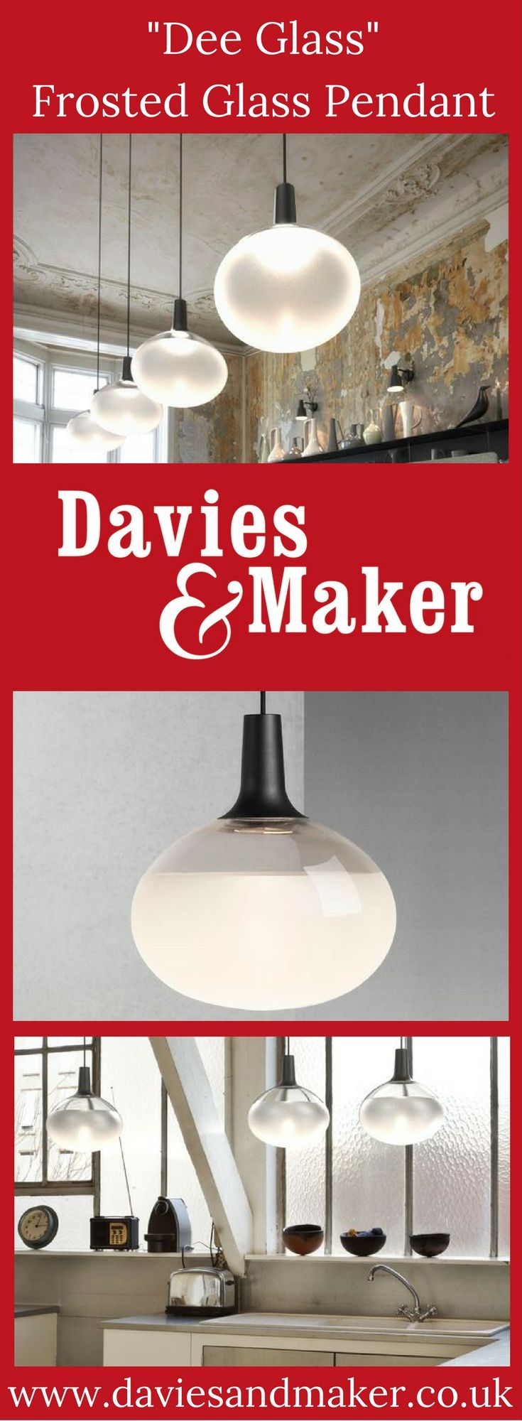 Contemporary frosted glass pendant light designed by Bønnelycke MDD for Danish lighting specialists, Nordlux. Dimmable LED technology ensures perfect illumination, adding light and atmosphere to the room. Available from: http://www.daviesandmaker.co.uk/product/dee-frosted-glass-pendant-light/