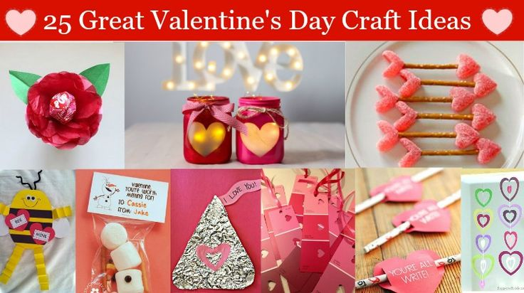 25 Great Valentine's Day Craft Ideas | Crafts, Valentines ...
