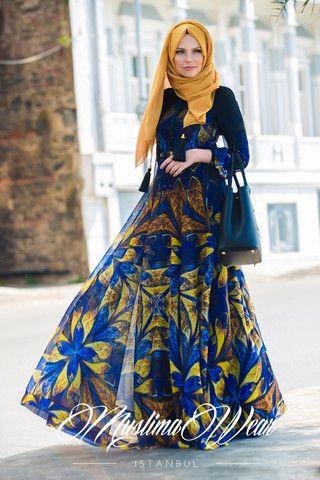 Butterfly Flower Chiffon Dress