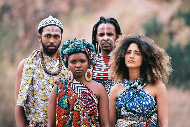 Newly formed South AFrican collective Batuk aims to unify seemingly disparate cultures through their music, utilising rhythmic sound as a universal language.   Credit: Tao Farren-Hefer.
