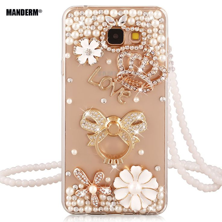J7 prime Luxury DIY Rhinestone Case Cover for Samsung Galaxy J7 prime Silicone Case On7 2016 Ultra-thin Clear stand holder cases