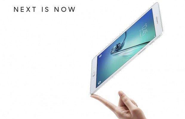 Samsung Unveils Galaxy Tab S2