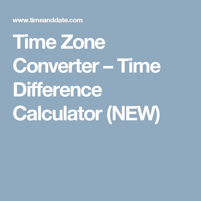 """Time Zone Converter – Time Difference Calculator. SOOO handy if you have a character traveling, but interacting with people at """"home"""""""