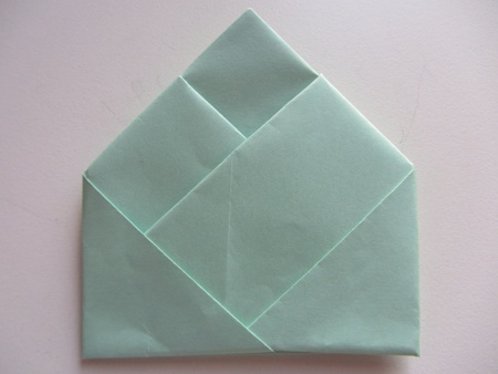 Bamboo letter fold, so much more interesting than an envelope!