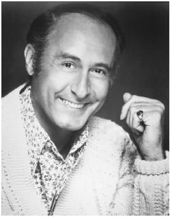 Henry Mancini, composer of Moon River, Pink Panther, and many other movie scores.