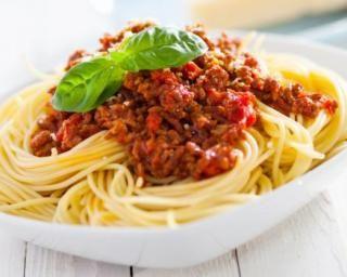 Spaghettis bolognaise allégés à la saucisse