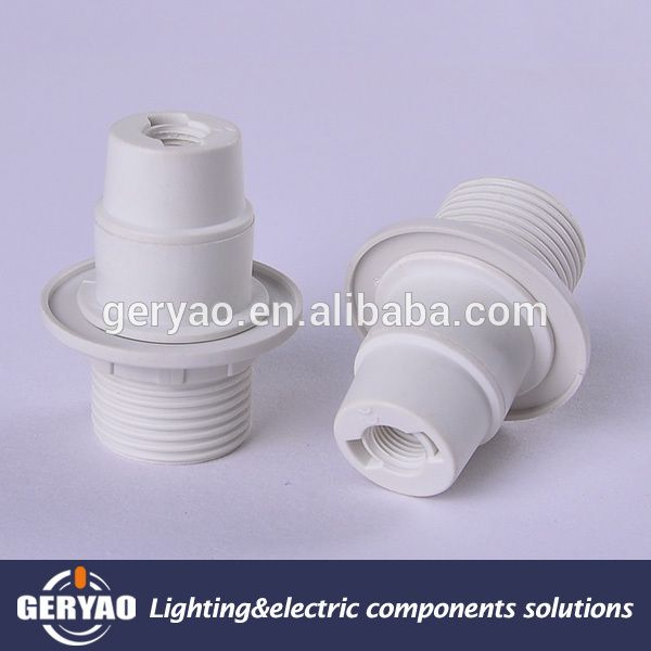 China Lighting Accessories Supplier E14 Plastic Screw Shell Lamp Holder With Shade Ring , Find Complete Details about China Lighting Accessories Supplier E14 Plastic Screw Shell Lamp Holder With Shade Ring,E14 Plastic Screw Shell Lamp Holder With Shade Ring,E14 Plastic Screw Shell Lamp Holder,Screw Shell Lamp Holder from Lamp Holders & Lamp Bases Supplier or Manufacturer-Zhongshan Geryao Lighting Electric Accessories Factory