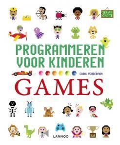 Programmeren voor kinderen-games, Jon Woodcock, non-fictie voor kinderen, thema: informatica