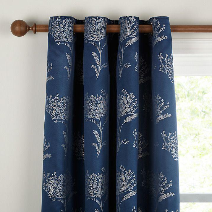 Bedroom Curtains John Lewis Home Depot Bedroom Colors Macys Bedroom Sets Japan Bedroom Decor: 23 Best Blue And White Curtains Images On Pinterest