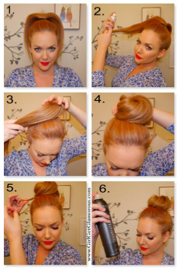 Topnotch Topknot. Tutorial at www.girlgetglamorous.com