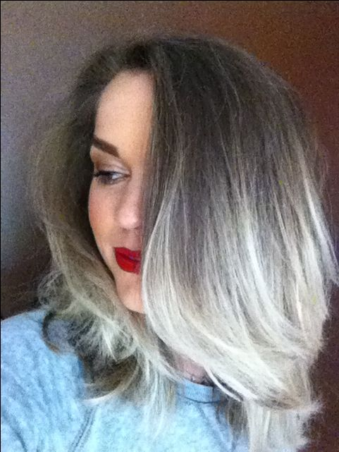 Grey ombre | Ombre Hair | Pinterest
