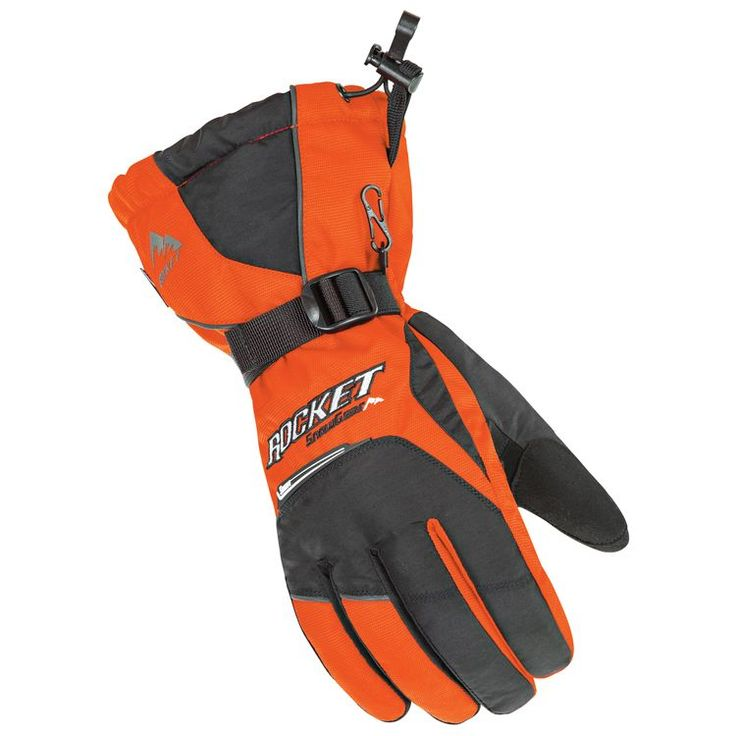 Insulated and waterproof. The Storm gauntlet gloves are snow-specific and ready for the trails.