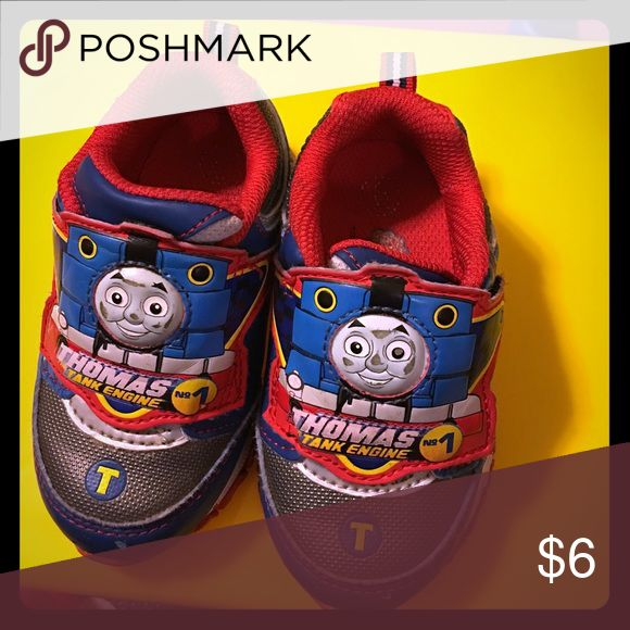 Thomas shoes for kids size 6 Nice shoes with lights Shoes Sneakers