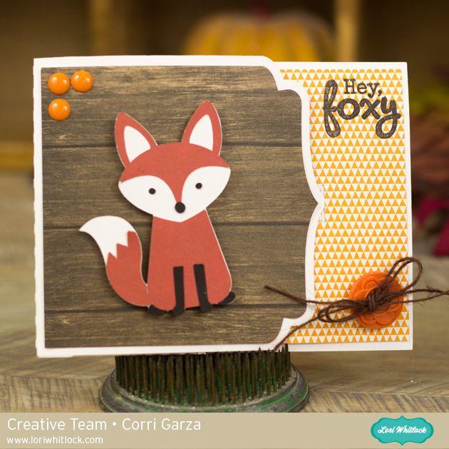 Foxy Gift Card Holder