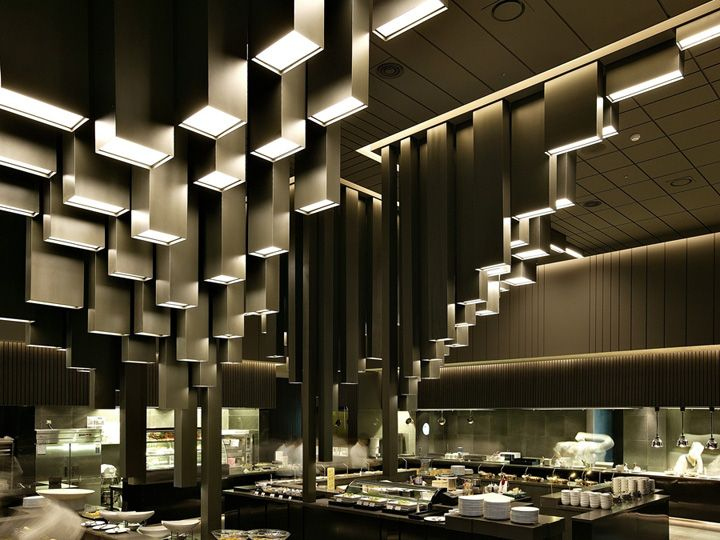 17 best images about fine dining restaurants on pinterest for Hotel ceiling design