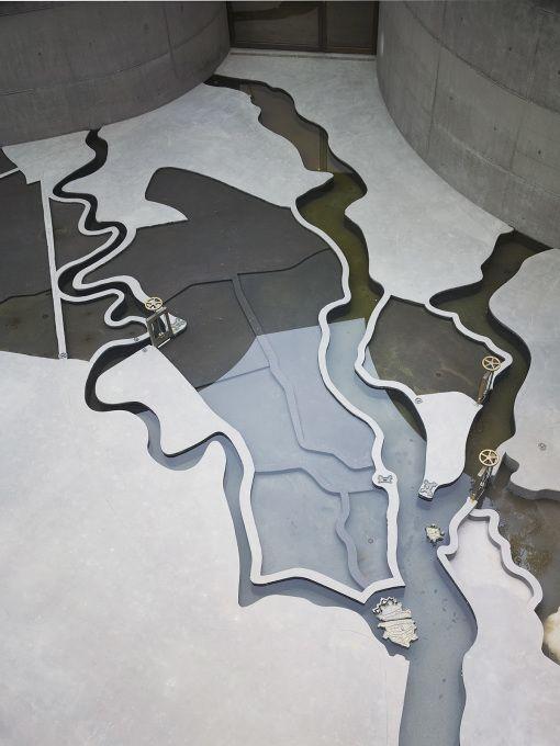 waterline museum | map detail ~ studio anne holtrop