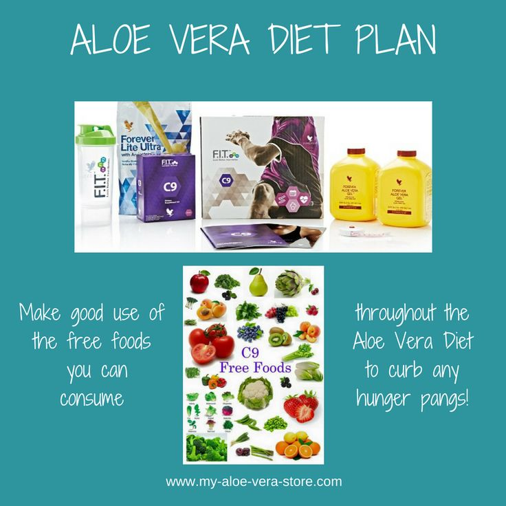 I love this Aloe Vera Diet Plan for the way it saves you having hunger pangs during the 9-day diet! #aloeveradietplan