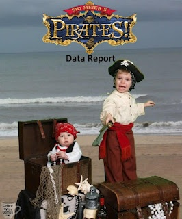Talk Like a Pirate? Play Like a Pirate! Sid Meier's Pirates! Data Report  Toddler pirates...with baby pirate in treasure chest.