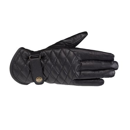 Horze Selena Quilted Leather Gloves | Horze Winter Gloves