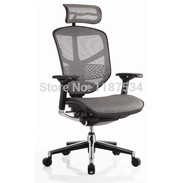 Офис Исполнительный лифт сетки поворотный удобный стул эргономичный офис рабочее кресло с подголовником