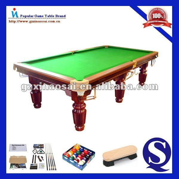 Check out this product on Alibaba.com APP 2015 Cheap Pool Table / 9 ft pool table slate, Solid wood, Marble or Slate, accessories, Ball, cue, plate, cloth,ect.