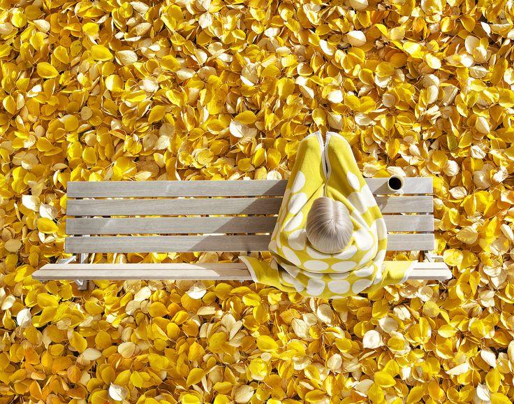 Fia - Lemon, Decke Baumwolle. Mit Liebe und Stolz in Schweden hergestellt