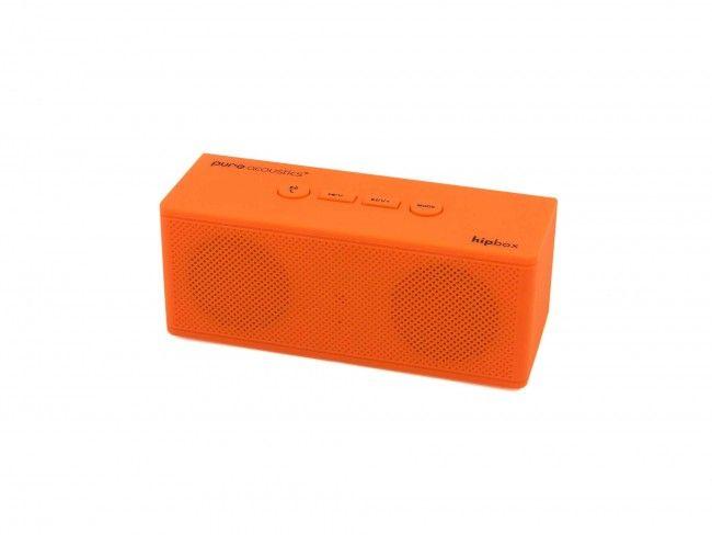 Pure Acoustics Hipbox Mini oranje - Radio's met Bluetooth - Radio's - 123platenspeler.nl