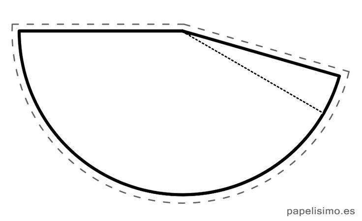 Plantilla-gorrito-de-fiesta-party-hat.jpg (842×514)