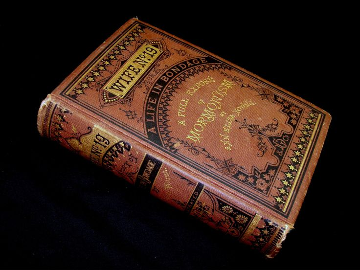 Rare antique book-wife no 19 a full expose of mormonism by ann eliza young-old mormon book-vintage 1876 mormonism book by BECKSRELICS on Etsy