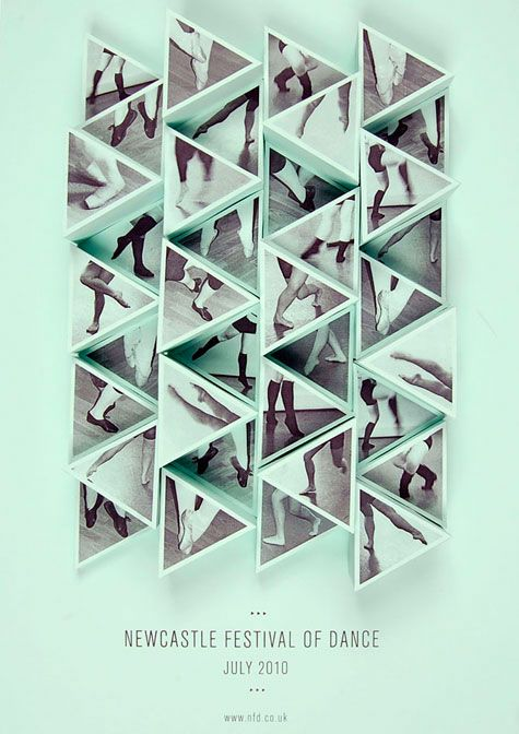 Amy Rodchester: Newcastle Festival of Dance Posters