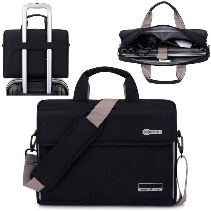 "15.6"" Oxford Cloth Laptop Handle Bag Case Messenger Pouch for MacBook Sale - Banggood.com"