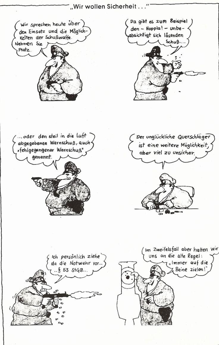 Gerhard Seyfried - Einsatz der Schusswaffe