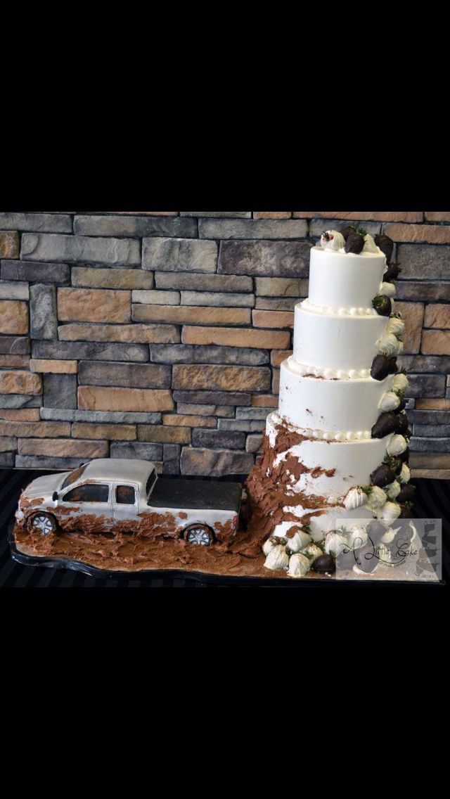 I want this for my wedding but have cowgirl boots and dirt bikes in the bed of the truck