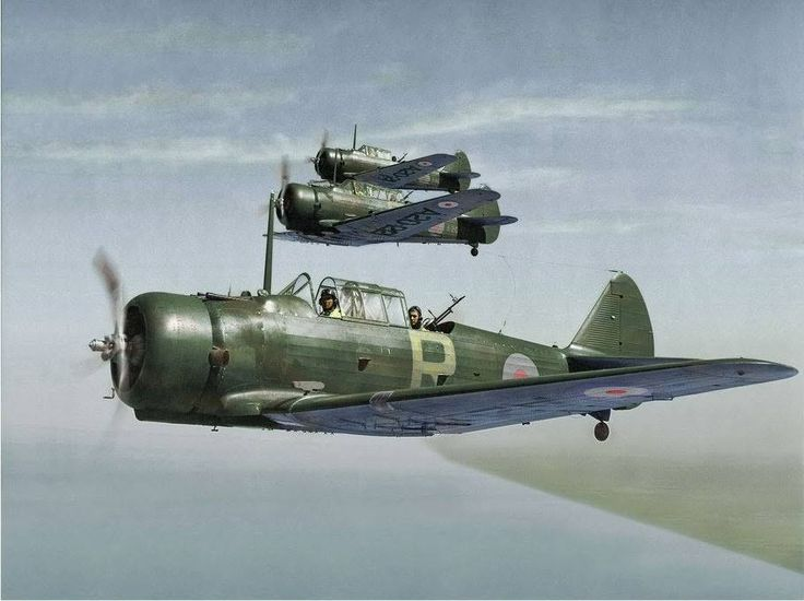 A20 CAC Wirraway formation from No 21 Squadron RAAF, based at Laverton, Victoria, during July 1941.