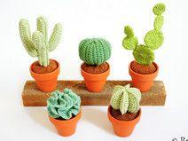 Häkelanleitung Kaktus Kakteen                                                                                                                                                     Mehr