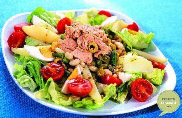 Нисуаз салат - рецепт