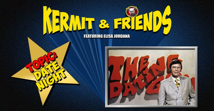 #Elisa is going on a date! (With A LOT of supervision) What dreams may come? See video here http://kermitandfriends.com/kermit-and-friends-episode-029-date-night/