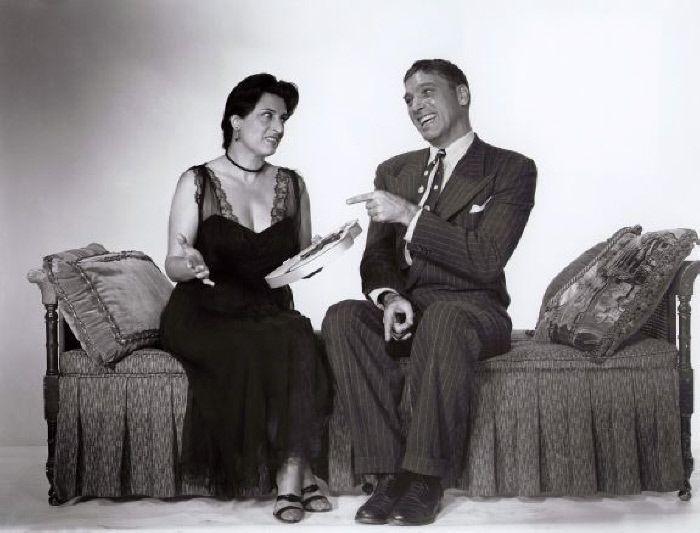 Anna Magnani e Burt Lancaster - MONDADORI PORTFOLIO/The Kobal Collection