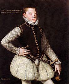 Alonso Sánchez Coello (Spanish, 1531-1588) ~ Rudolf II, Holy Roman Emperor as a…