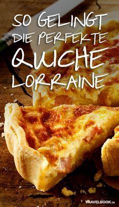 """In unserer Rubrik """"Weltspeisen"""" berichten wir regelmäßig über Streetfood-Märkte und Restaurants, die derzeit angesagt sind, und stellen Gerichte aus aller Welt vor. Dieses Mal verrät uns """"Küchenschlacht""""-Gewinner Alexandre Bidault sein Rezept für eine perfekte Quiche Lorraine."""