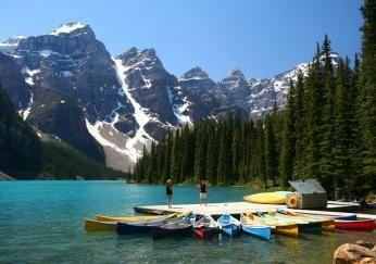 Kano sejlads i Canada
