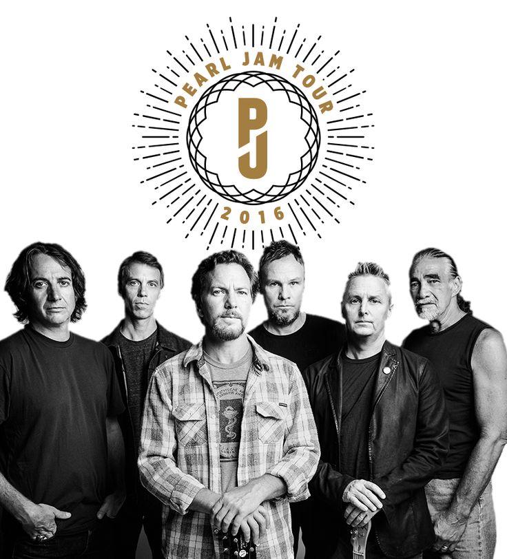 GoRockfest.Com: Pearl Jam Tour Dates 2016