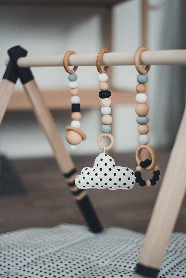FRAME ONLY-baby Gift//nursery Wooden Handmade Scandinavian Baby Gym