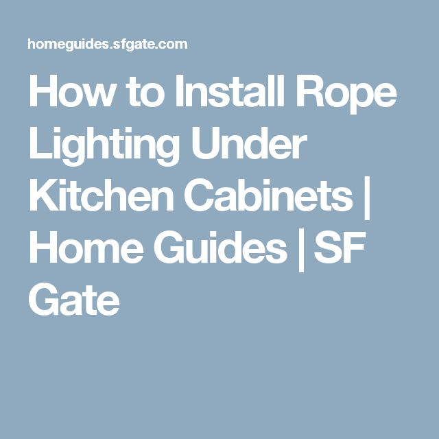 17 Best Ideas About Rope Lighting On Pinterest