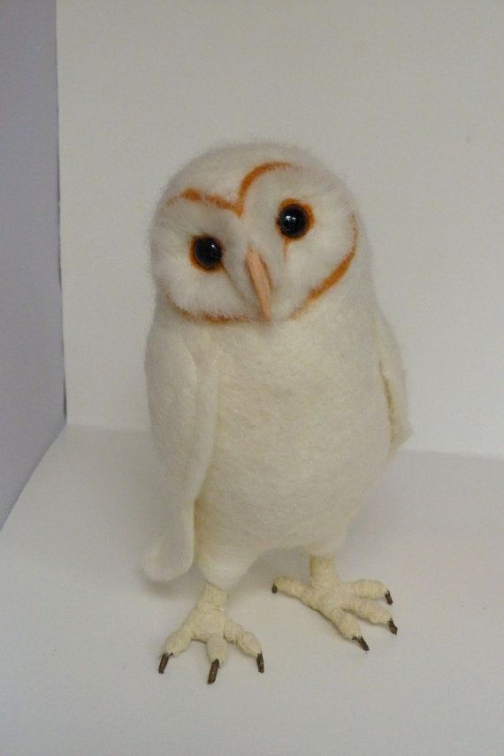 Baby Barn Owl by pipspatterns on Etsy, $139.00