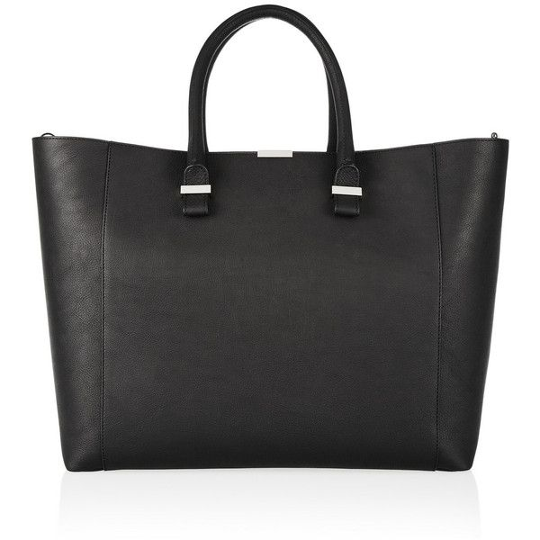 Victoria Beckham Liberty leather tote found on Polyvore
