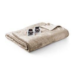 Velour with Sherpa Electric Blanket - Biddeford Blankets