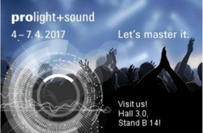 See you soon at Prolight + Sound ! Visit us at Hall 3.0 Stand B14  #decima #webuildemotions