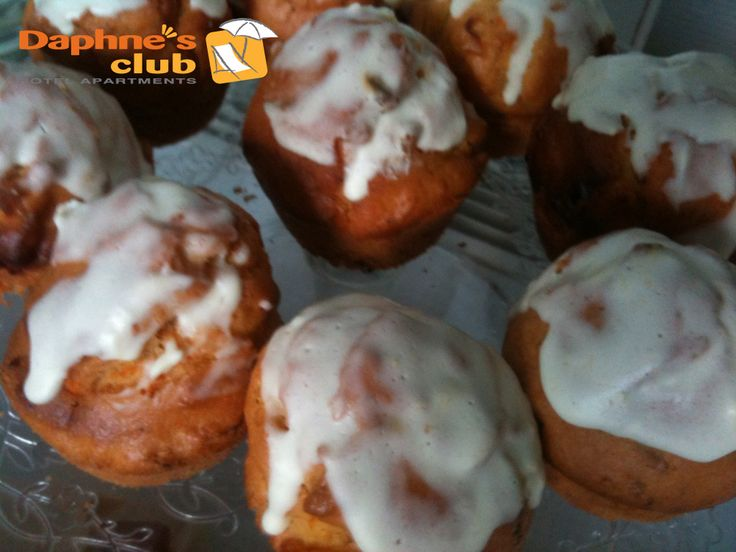 Apple muffins for breakfast
