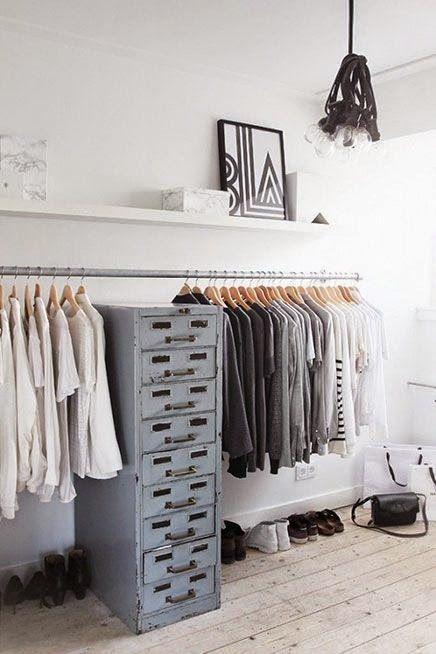El que no quiera tener un vestidor en su casa, que levante la mano...